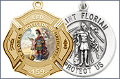 Saint Florian Medals