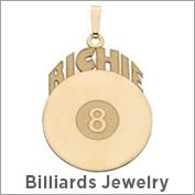 Billiards Jewelry