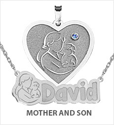 Mother with Son Pendants