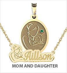Mother with Daughter Pendants
